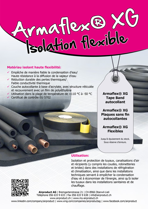 Armaflex® XG Isolation flexible